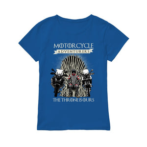 THE THRONE IS OURS ! - Premium Women's T-shirt