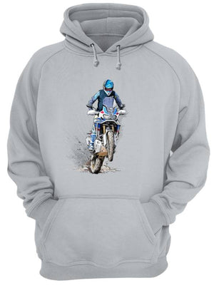 The beautiful Africa  - Unisex Hoodie - Motorcycle Adventurers