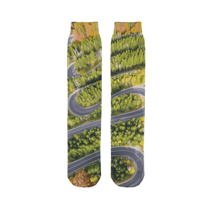 Corners Paradise Tube Sock - Motorcycle Adventurers