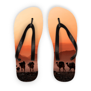 Camel Mirage Adult Flip Flops - Motorcycle Adventurers