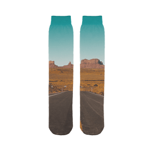 Death Valley  Sublimation Tube Sock - Motorcycle Adventurers