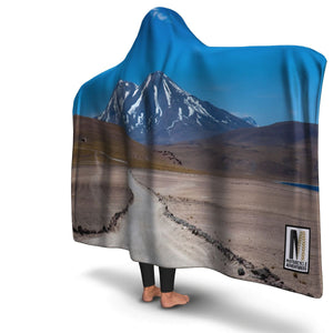 Hooded Blanket Mountain Adventure - Motorcycle Adventurers