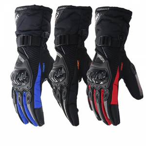 Touchscreen Waterproof Warm Motorcycle Gloves