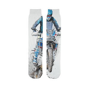 Africa Sublimation Tube Sock - Motorcycle Adventurers