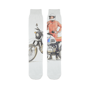 Legend Sublimation Tube Sock - Motorcycle Adventurers