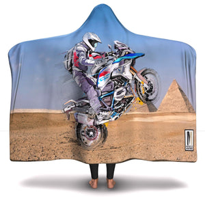 1200 Rallye Hooded Blanket