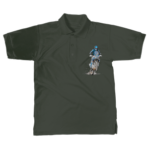 Classic Adult Polo Shirt - Africa - Motorcycle Adventurers