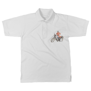 Classic Adult Polo Shirt - R80 Dakar - Motorcycle Adventurers