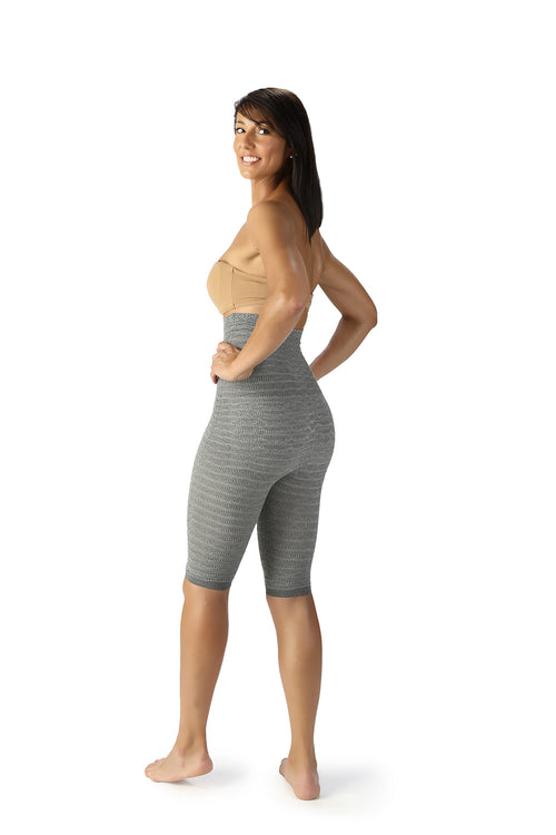 SPIKE-CELL TUMMY PANEL CYCLING SHORTS