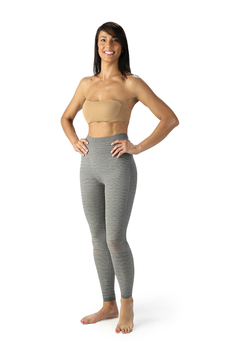 SPIKE-CELL REGULAR WAIST LEGGINGS