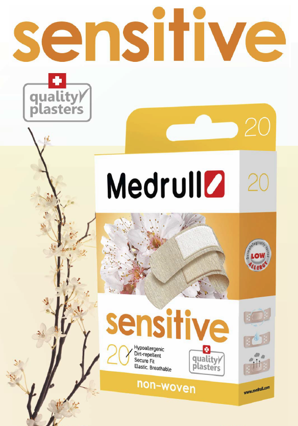 Náplasti Medrull  Sensitive
