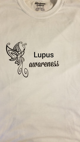 Butterfly Design - Lupus T-Shirt (2XL-5XL)