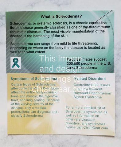 Scleroderma Pass It On Cards