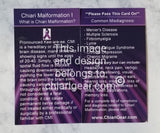 Chiari Pass It On Cards