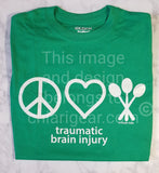 Peace, Love, & Spoons T-Shirt (2XL-5XL)