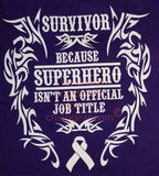 Survivor SuperHero - T-Shirt (2XL-5XL)
