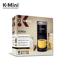 Load image into Gallery viewer, Keurig K-Mini Coffee Maker, Single Serve K-Cup Pod Coffee Brewer, 6 to 12 oz. Brew Sizes, Black