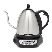 Load image into Gallery viewer, Bonavita 1.0L Variable Temperature Electric Kettle, 1.0 Liters, Metallic