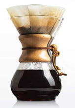 Load image into Gallery viewer, CHEMEX Pour-Over Glass Coffeemaker - Classic Series - 8-Cup - Exclusive Packaging
