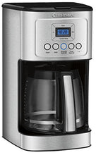 Load image into Gallery viewer, Cuisinart DCC-3200P1 DCC-3200CP Perfectemp Coffee Maker, 14 Cup Progammable with Glass Carafe, Stainless Steel