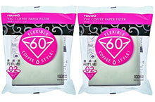 Load image into Gallery viewer, Hario V60 Paper Coffee Filters, Size 02, White, Tabbed