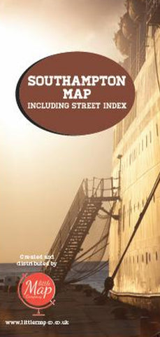 southampton map with street index cover