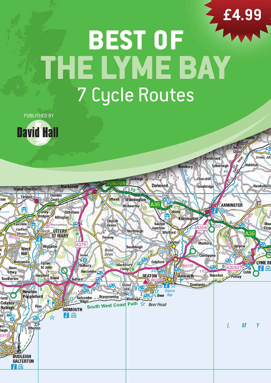 Best of the Lyme Bay - 10 Circular Pub Walks Book image