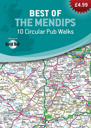 Best of the Mendips - 10 Circular Pub Walks Book image