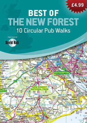 Best of the New Forest - 10 Circular Pub Walks Book image