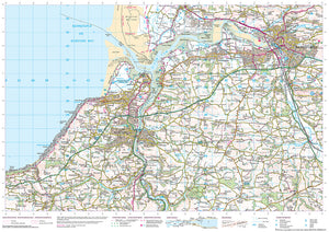 scan of Buck's Mills to Combe Martin - Coastal Walking & Cycling Map trails