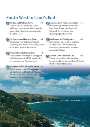 inside the Cornwall - 40 Coast & Country Walks Book image 2