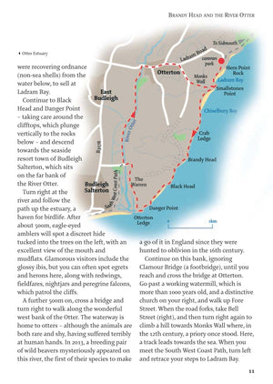 inside the Devon - 40 Coast & Country Walks Book image 3