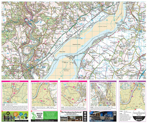 scanned image of Forest of Dean map