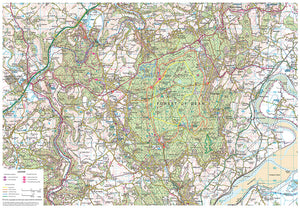 scanned image of Forest of Dean walks