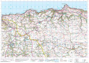 scanned image of Combe Martin map