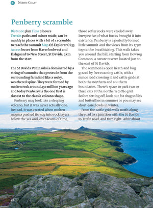 inside the Pembrokeshire - 40 Walks Book image 2