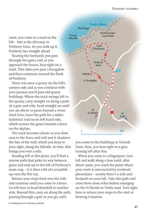 inside the Pembrokeshire - 40 Walks Book image 3