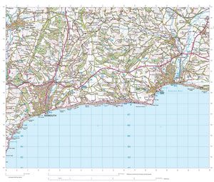 scanned image of Seaton map
