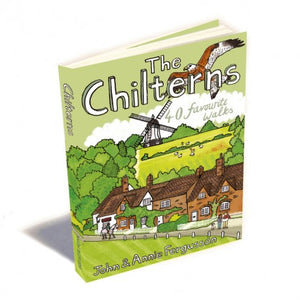 The Chilterns - 40 Favourite Walks Book | The Little Map Company image