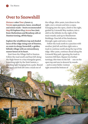 inside the The Cotswolds - 40 Walks Book image 3