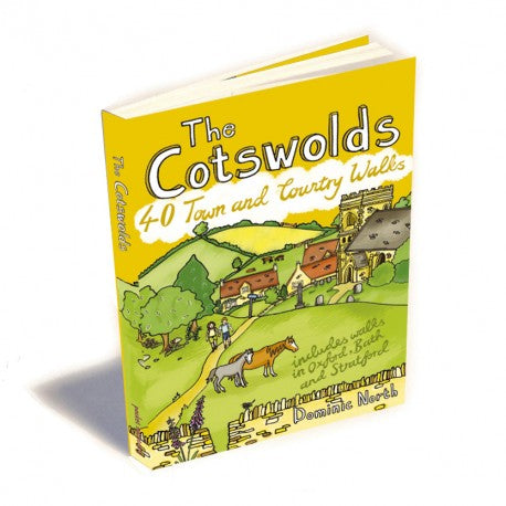 The Cotswolds - 40 Walks Book | The Little Map Company image
