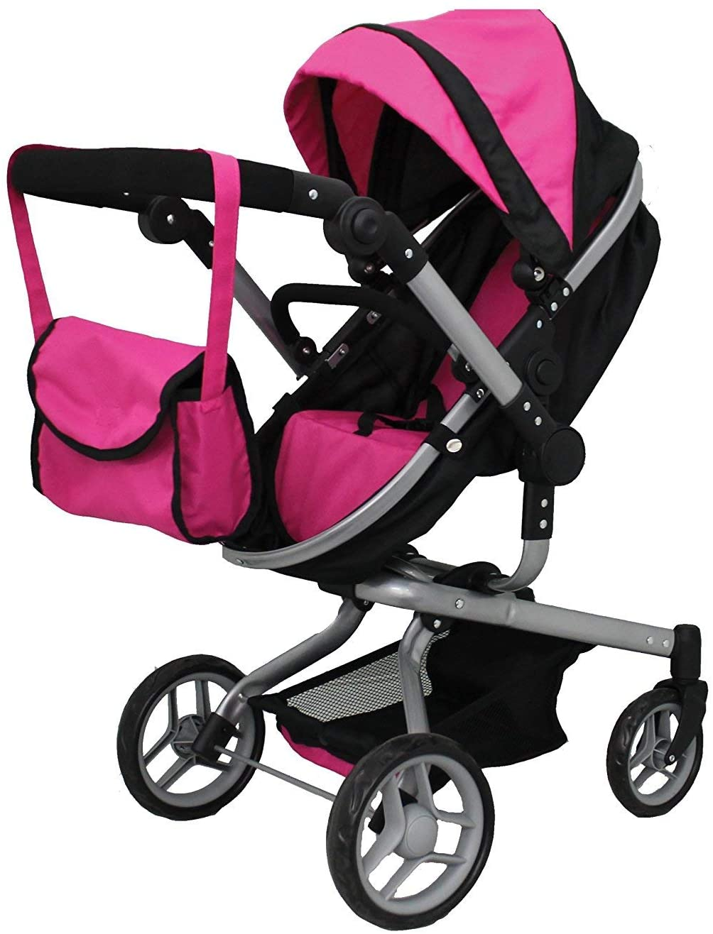 Mommy and me 2 in 1 Doll stroller Carrier with FREE carriage bag