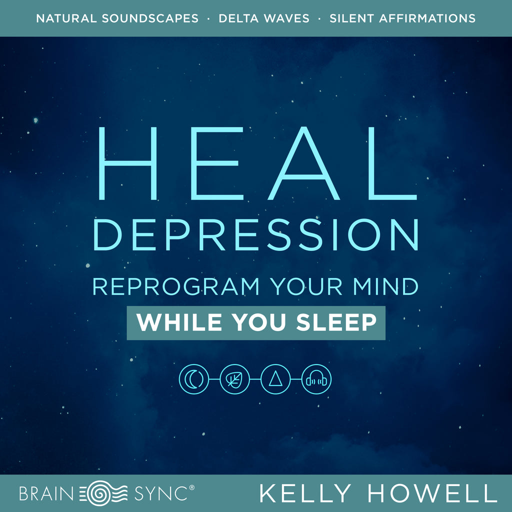 Heal Depression Sleep Binaural Beats by Kelly Howell.