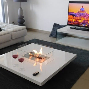 LOU Coffee Table Smart Fireplace