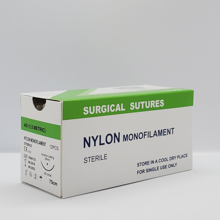 Box of 12ct. Sutures (Available in 3-0, 4-0 & 5-0)