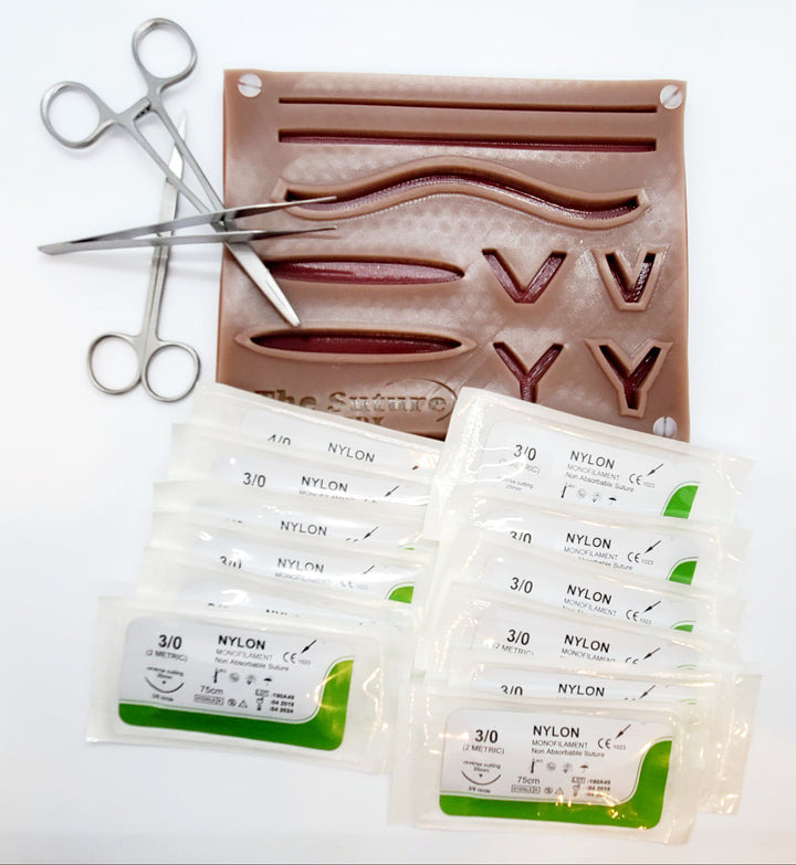 The Suture Buddy Kit (With Logo) - Darker Skin Tone
