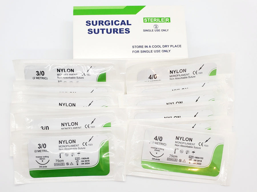 1 Year Supply of Box of 12 Sutures