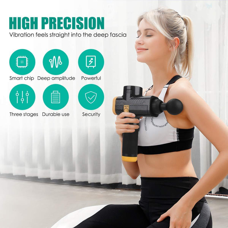 Muscle Massage Gun, Electric Massage Machine Upgraded
