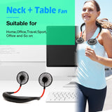 Portable Hands-free Neck Fan