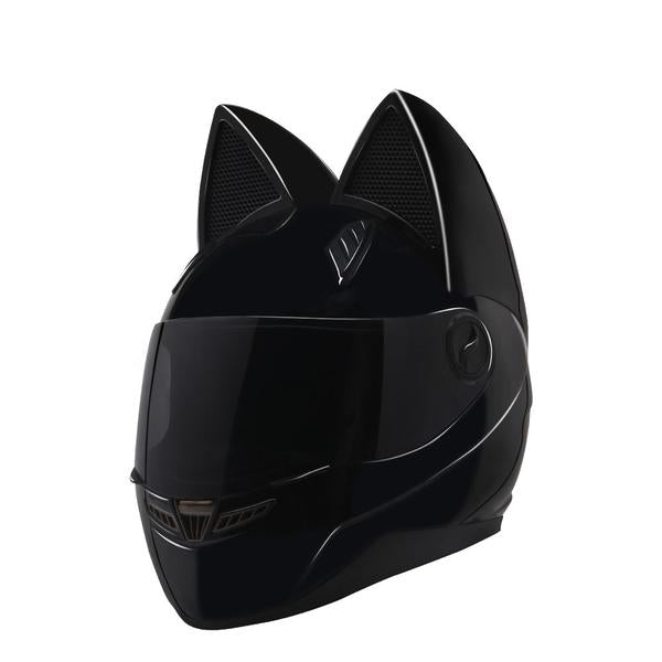 Cute Cat Motorcycle Helmet